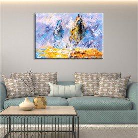 Tela Wild Horse Abstrato