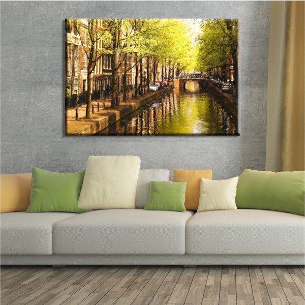 Tela Ruas de Amsterdã
