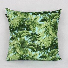 Almofada Belize Folhas Verde Claro
