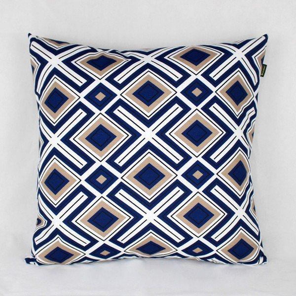 Almofada Belize Abstrato Azul