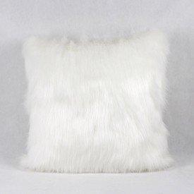 Almofada Vison Pelo Branco