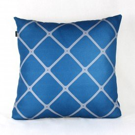 Almofada Georgia Losango Azul