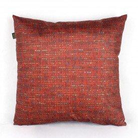 Almofada Zirconia Mesclada Vermelha