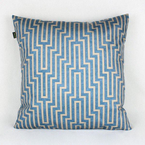 Almofada Zirconia Labirinto Azul