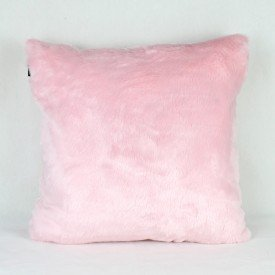 Almofada Hematita Peluciada Rosa Bebê