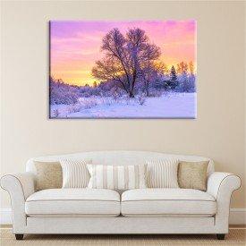 Tela Canvas Entardecer de Inverno