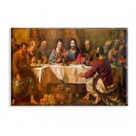 Tela Canvas Religião Santa Ceia Antiga