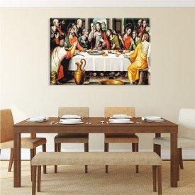 Tela Canvas Religião Santa Ceia O Último Jantar