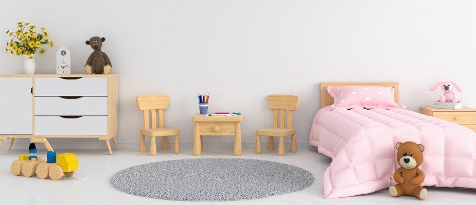 4 Dicas Incríveis de Decoração para Quartos Infantis