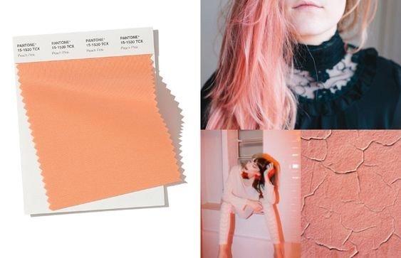 PANTONE 15-1530 Peach Pink