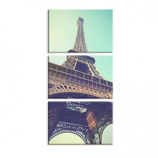 Kit 3 Telas Canvas Paris Tumblr
