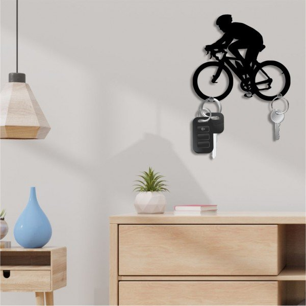 Porta Chaves Bicicleta