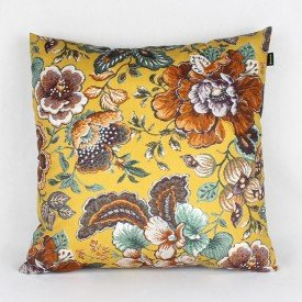 Almofada Topazio Floral Amarela