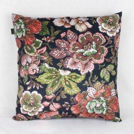 Almofada Topazio Floral Escura