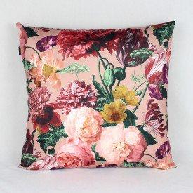 Almofada Topazio Floral Rosa