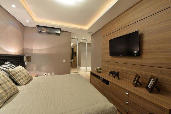 Painel tv para quarto prego e martelo vivadecora