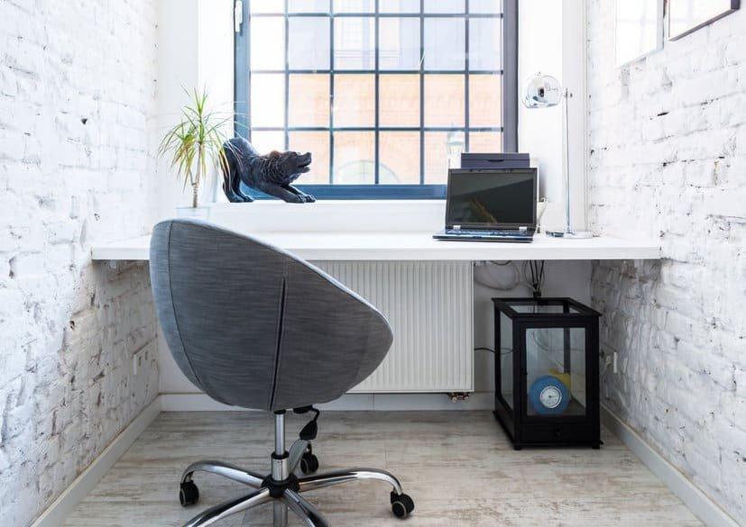home office pequeno conforto