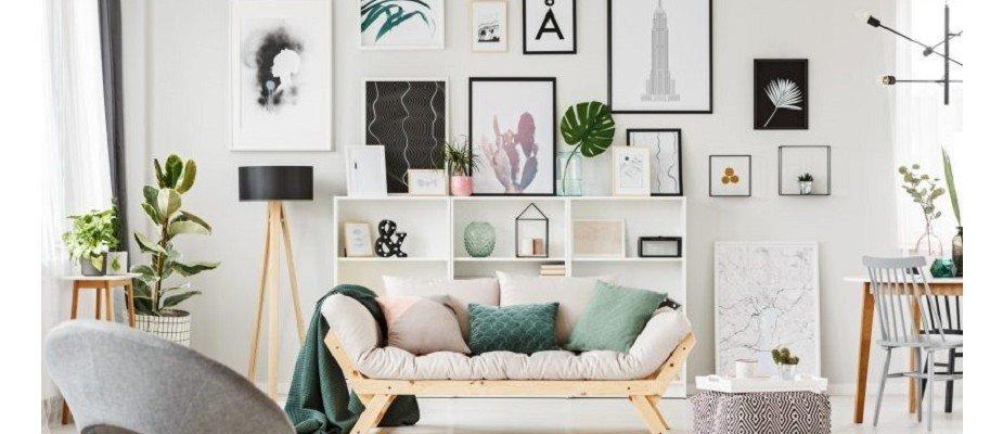 6 Ideias Para Decorar as Paredes da Sua Casa