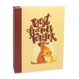 ALB923 lbum Pet Lovers Rebites Co Gato Best Friends 160 Fotos 10X15