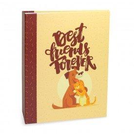 ALB923 lbum Pet Lovers Rebites Co Gato Best Friends 160 Fotos 10X15