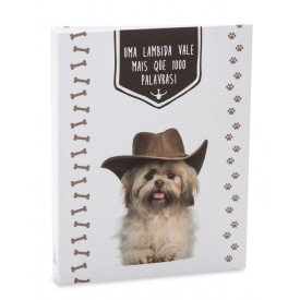 ALB918 lbum Pet Lovers Rebites Co Chapu 160 Fotos 10X15