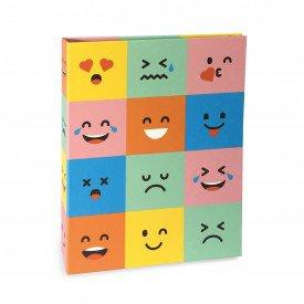 ALB929 lbum Criativa Rebites Emojis 160 Fotos 10X15