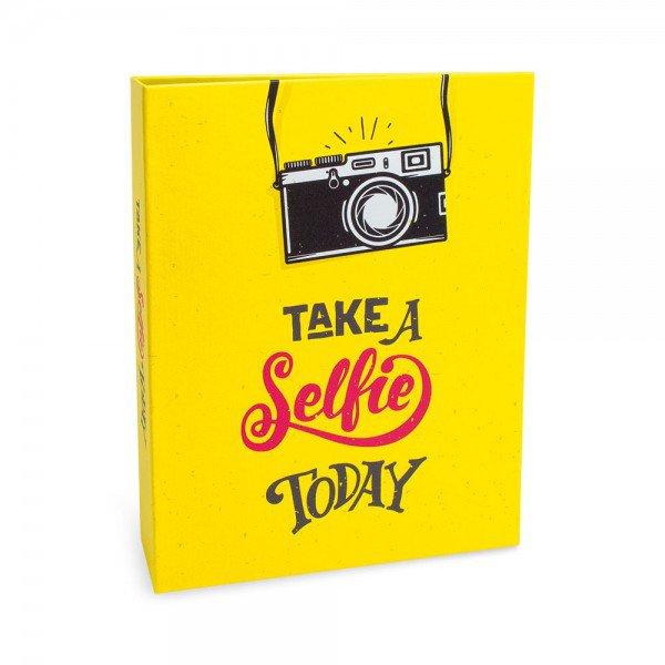 ALB934 lbum Criativa Rebites Selfie 160 Fotos 10X15