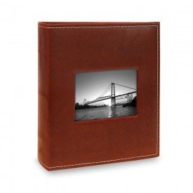 alb509 album prestige com janela almofadado vermelhp 300 fotos 10x15
