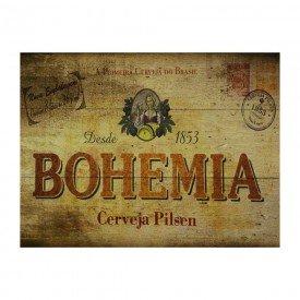 Placa Decorativa em MDF Bohemia Cerveja Pilsen