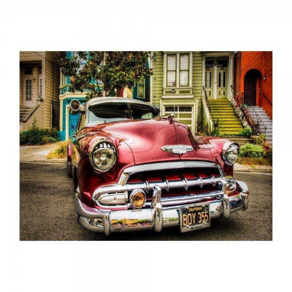 placa decorativa em mdf carro antigo california oldschool