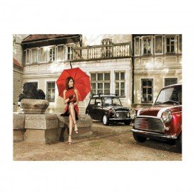 placa decorativa em mdf ensaio fotografico carros antigos