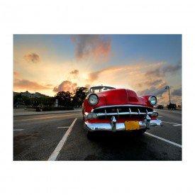 placa decorativa em mdf carro de colecionador antigo sunset
