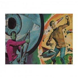 Placa Decorativa em MDF Spock Star Trek