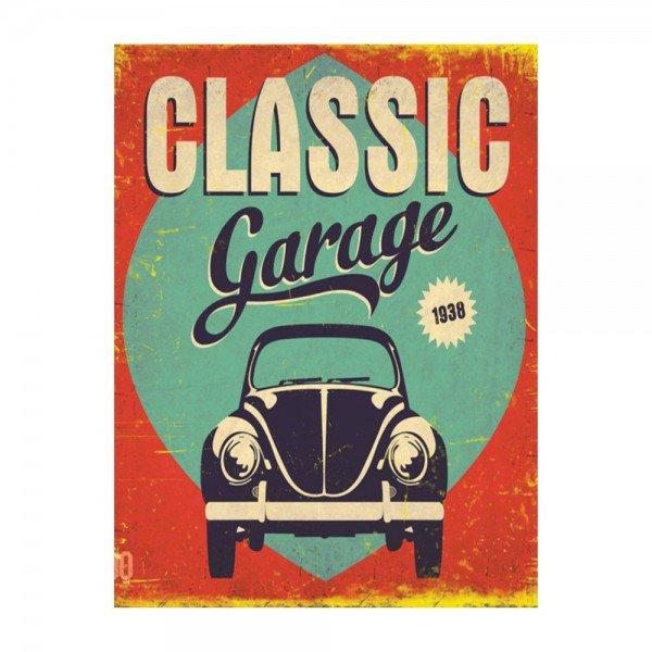 Placas Decorativas em MDF Classic Garage