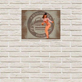 Placas Decorativas em MDF Sexy Women Oficina