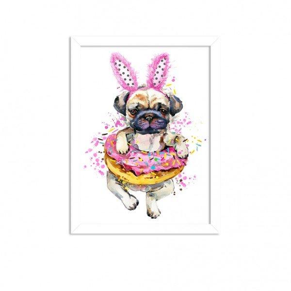 Quadro Decorativo Animal Meu Melhor Amigo Cachorro Funny