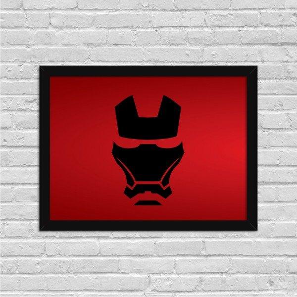Quadro Decorativo Filme Homem de Ferro