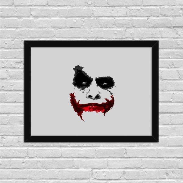 Quadro Decorativo Why so Serious Coringa