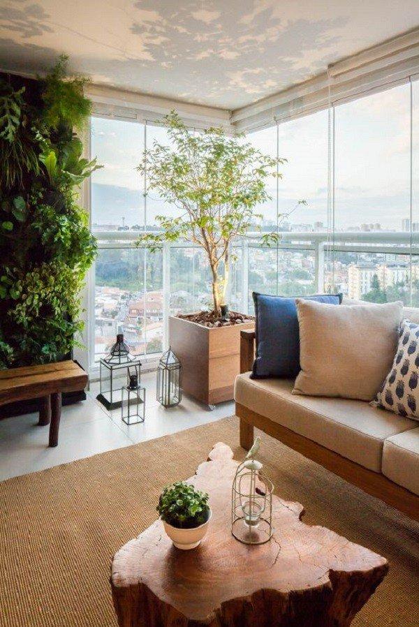 varanda grande plantas
