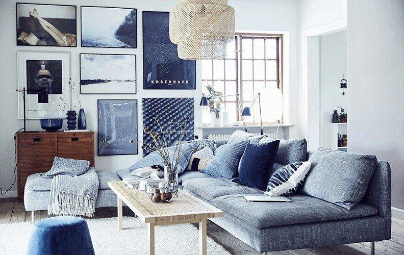 decoracao azul