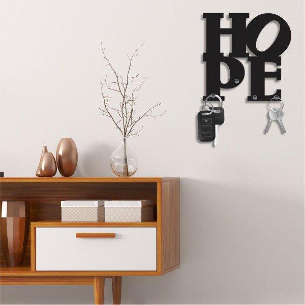 Porta Chaves Decorativo em MDF Hope