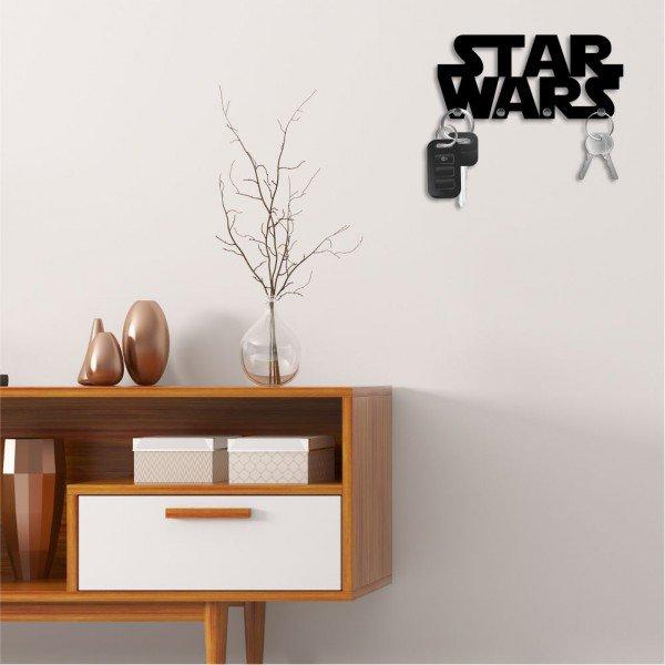 Porta Chaves Decorativo em MDF Star Wars
