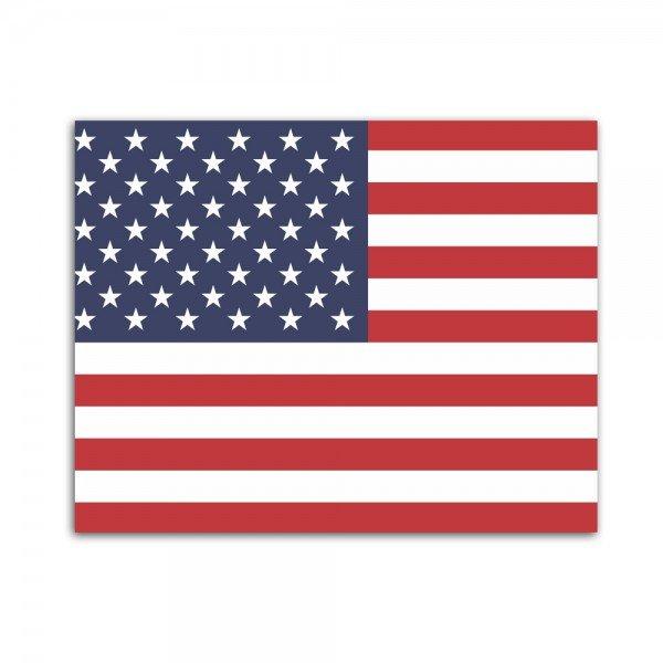Placa Decorativa em MDF Bandeira dos Estados Unidos