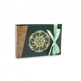 Álbum Gift Solda Laço Verde 60 Fotos 10X15