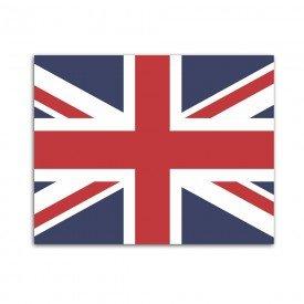 Placa Decorativa em MDF Bandeira do Reino Unido 30x40