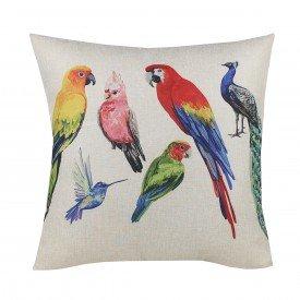 Almofada Decorativa Premium Amazonas Aves
