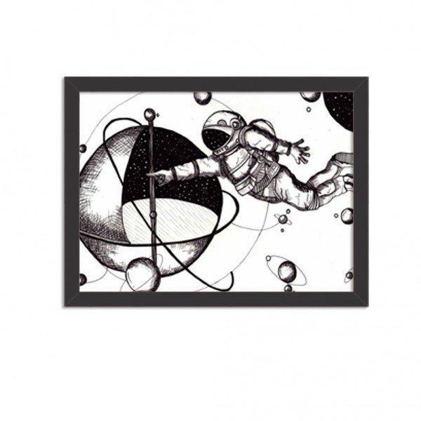 Quadro Decorativo Astronauta