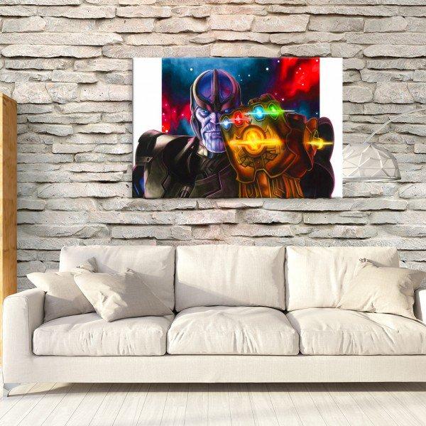 Tela em Canvas Decorativa Manopla de Thanos