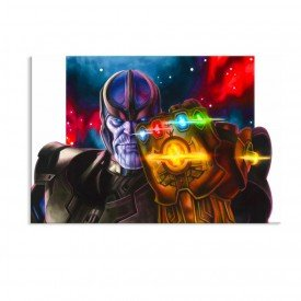 Tela em Canvas Decorativa Manopla de Thanos