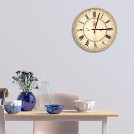 Relógio de Parede Decorativo Bird Cage